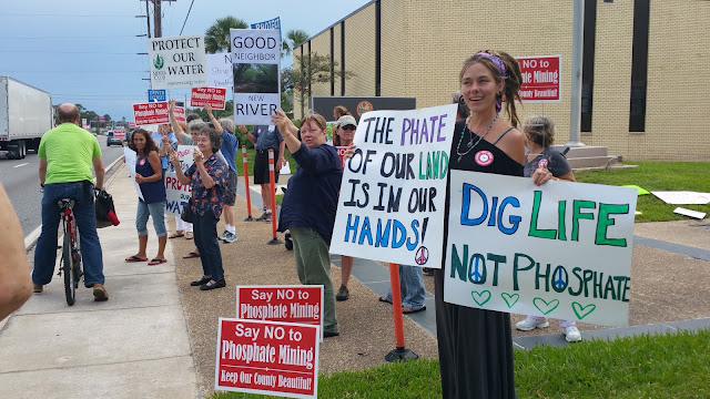 Dig%2Blife In: Residents speak out against proposed phosphate mine in Bradford | Our Santa Fe River, Inc. | Protecting the Santa Fe River in North Florida