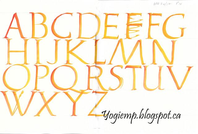 http://yogiemp.com/Calligraphy/PaulHerrera_BrushLetteringRomans.html