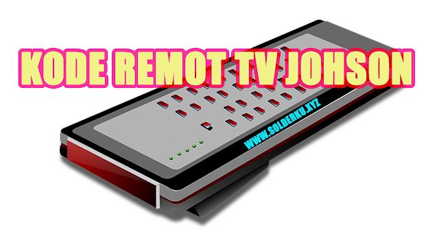 Kode Remot tv Johson