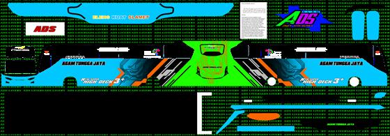 livery agam tungga jaya biru hijau jb3+ shd mn wsp mods