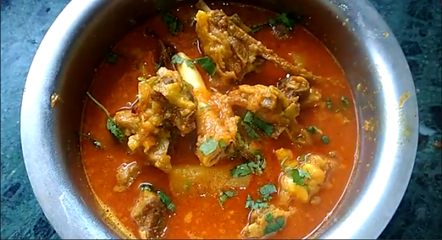 Mutton Kosha recipe or How to make Mutton Kosha