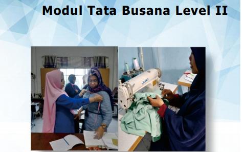 Modul II Pembelajaran Tata Busana SMK Tahun Pelajaran 2020/2021
