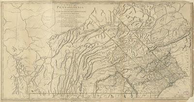 Climbing My Family Tree: 1770 Map of Pennsylvania Colony