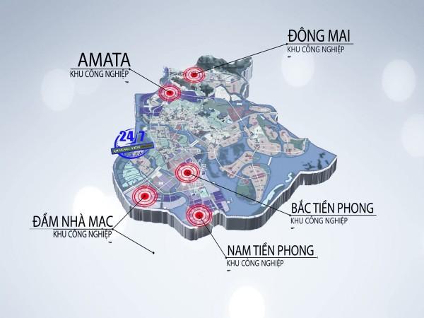 Khu công nghiệp tại Quảng Yên