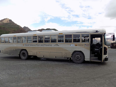 Denali Tundra Wilderness Tour Bus (Not Very Comfy)