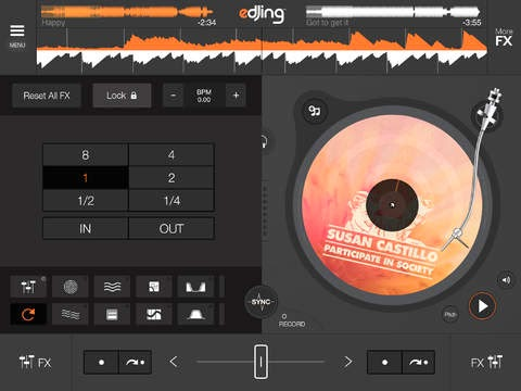 edjing GRATIS - dj mixer console studio - Play Mix Record & Share your sound!