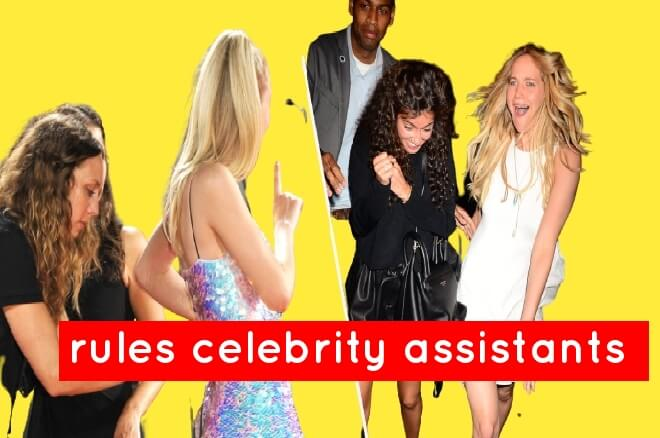 How to rules celebrity assistants must follow on the red carpet .