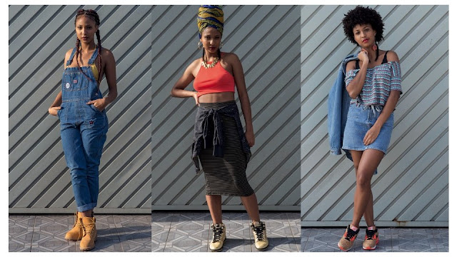 Hip-hop, cultura afro e vintage fazem a moda e a luta da atriz Domenica Dias