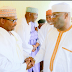 [PHOTOS] Atiku Abubakar Pays Condolence Visit To His Friend In Adamawa Over Death Of His Mother