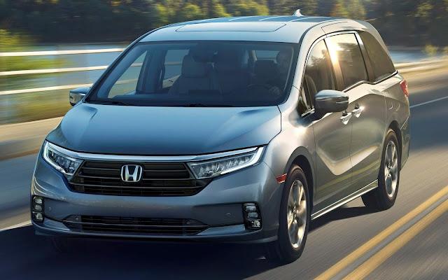 Honda Odyssey 2021 ganha facelift e aperfeiçoamentos