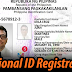 Online pre-registration para sa Philippine Identification System, Mag uumpisa na sa 2021