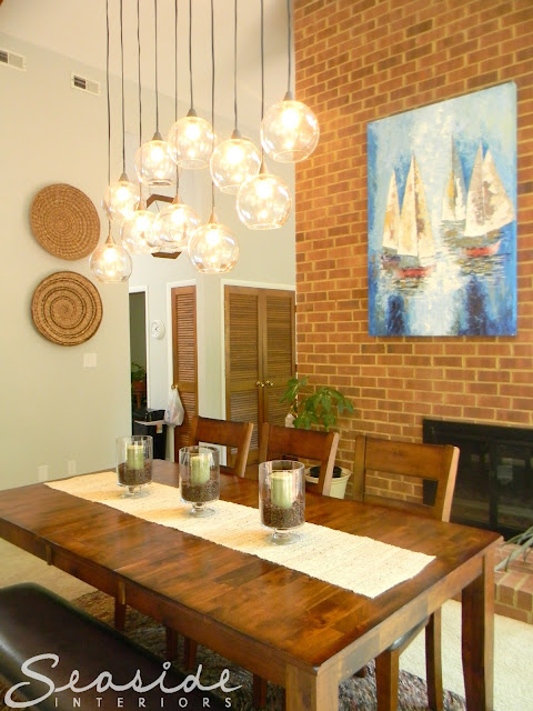 Seaside Interiors Dining Room Design Makeover Using The Cb2