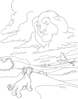 משמר האריות דפי צביעה