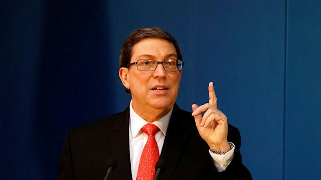 """Canciller cubano califica de """"injustificada"""" la expulsión de sus diplomáticos en EE.UU."""