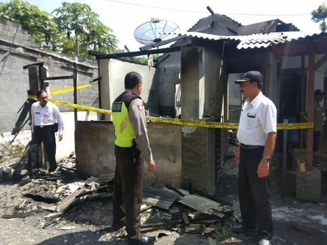 Manasi Cilok, Rumah Ludes Terbakar
