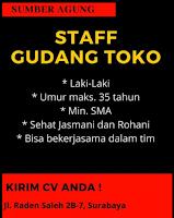 Info Lowongan Kerja di Sumber Agung Surabaya Juni 2021