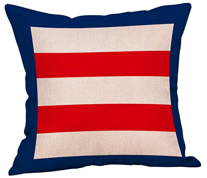 Striped Nautical Pillow