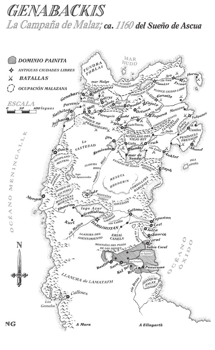 Genabackis - Campaña de Malaz