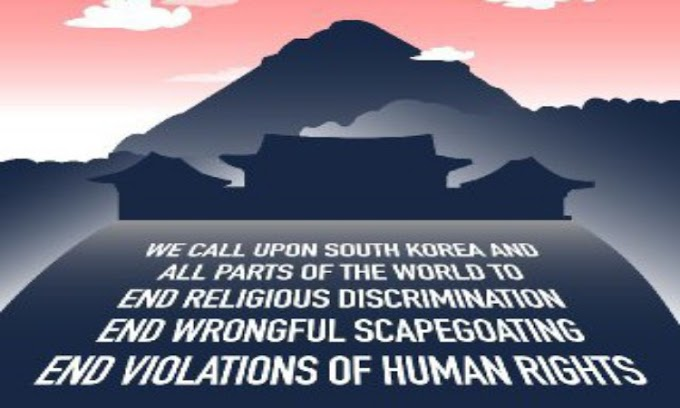 Dunia Memperingatkan Pemerintah Korea Selatan Mengenai Penindasan Agama, Hak Asasi Manusia dan Perdamaian dengan Menggunakan Covid-19