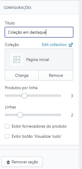 personalizando uma loja virtual shopify brasil