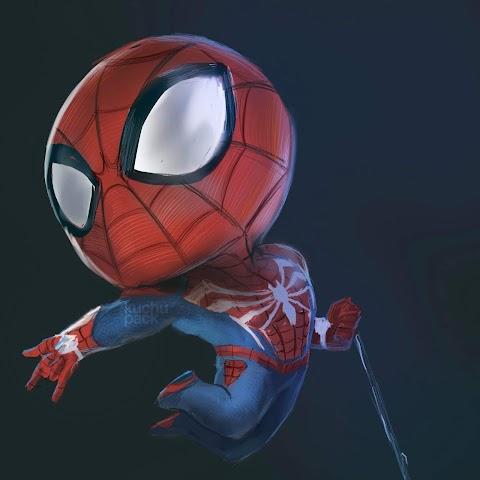 Hình Nền Đẹp Cho Điện Thoại 3D Spider Man Nhỏ Bé