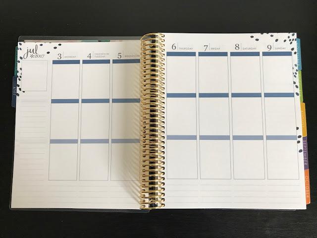Erin Condren Planner Weekly
