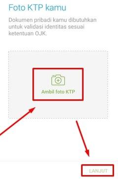 Melampirkan Foto KTP / e-KTP