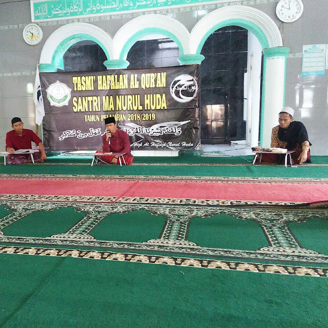 Tasmi Hapalan Al Qur'an MA Nurul Huda
