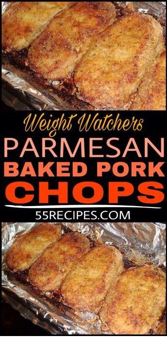 Parmesan Baked Pork Chops