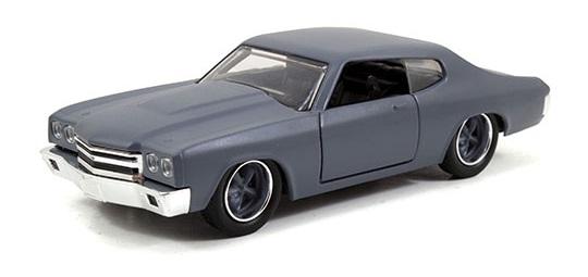 coleccion rapido y furioso, coleccion rapido y furioso jada tyos, coleccion rapido y furioso 1/32, Dom's Chevy Chevelle SS