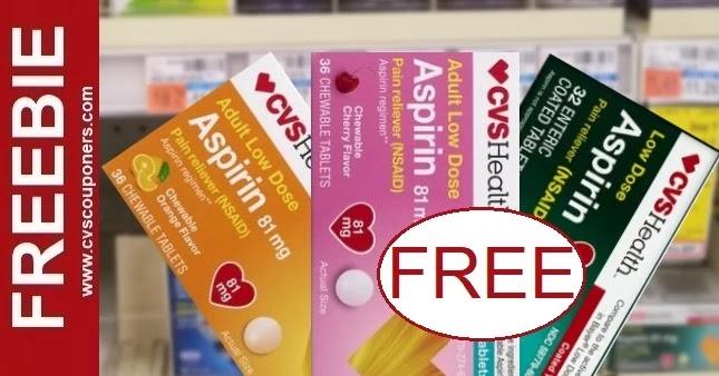 FREE CVS Health Aspirin Deals