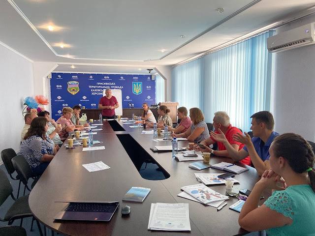 """Тренінг """"Партнерство заради розвитку громади"""" у Григорівці"""
