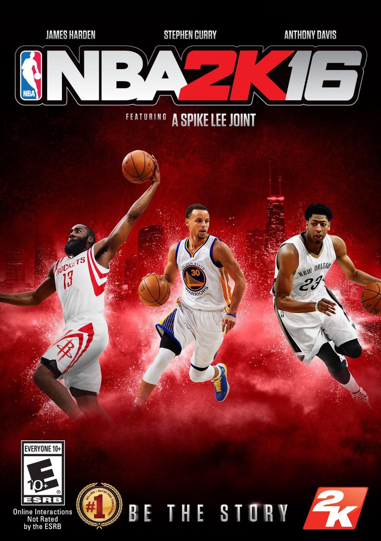NBA 2K16 ESPAÑOL PC Full Cover Caratula