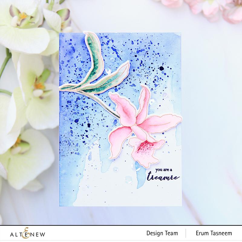Altenew Build-A-Flower: Laelia | Erum Tasneem | @pr0digy0