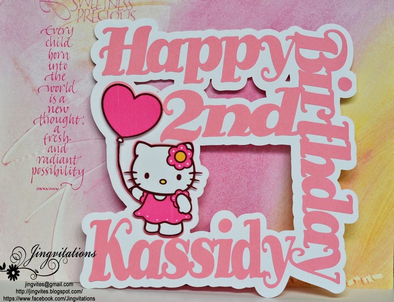 54e08d4275b Jingvitations: Hello Kitty Birthday Party Invitations, Banner ...
