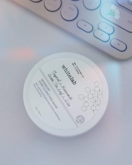 [Kesan Pertama] Menggunakan Mugwort Pore Clarifying Mask Whitelab