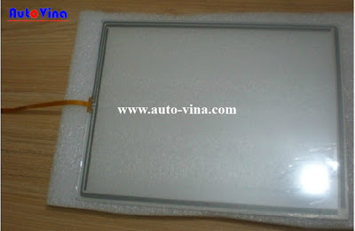 Sửa chữa thay tấm kính cảm ứng màn hình HMI hãng M2I Hàn Quốc