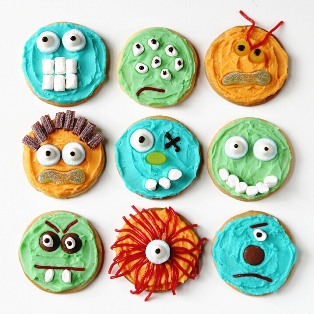 HALLOWEEN MONSTER COOKIES. | Gathering Beauty