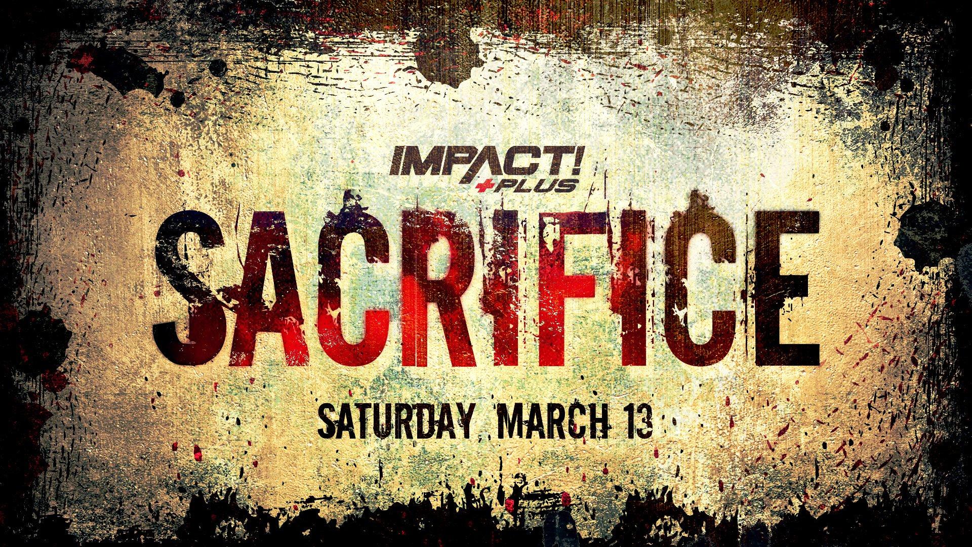 Revelada a data do evento IMPACT Wrestling Sacrifice