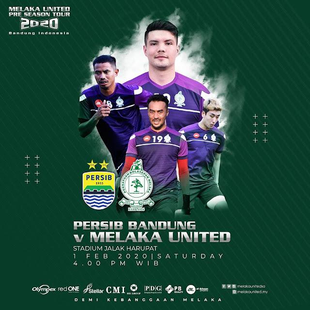 Live Streaming Persib Bandung vs Melaka United 1.2.2020