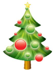 great dibujos de arboles de navidad para imprimir