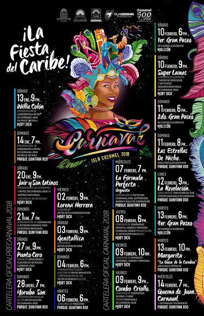 carnaval cozumel 2018