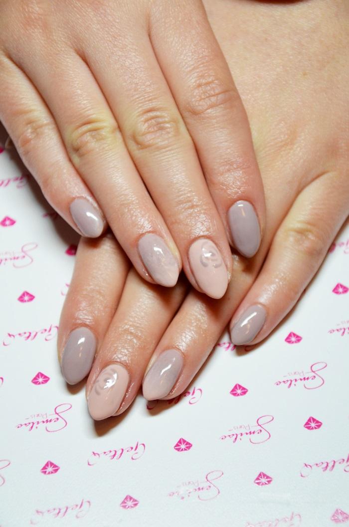 Beauty Blog Delikatne Manicure Semilac Little Stone