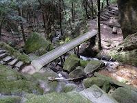 交野市・私市ハイキング 月の輪滝