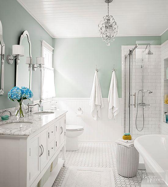 Un baño clásico CocoChic&Deco