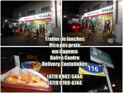 delivery de lanches em itapema