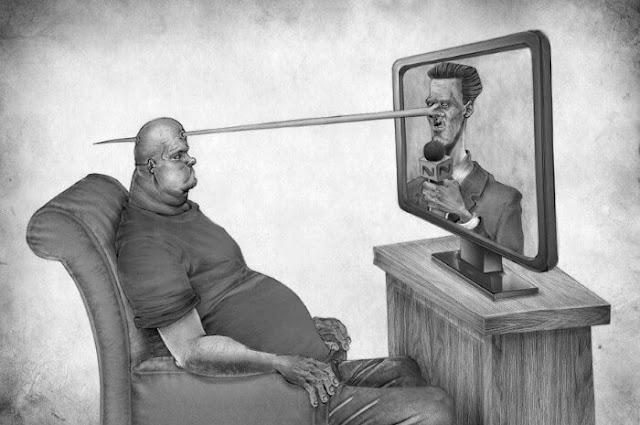 رسومات تعبر عن الواقع الحزين الذى نعيشه فى حياتنا اليومية.