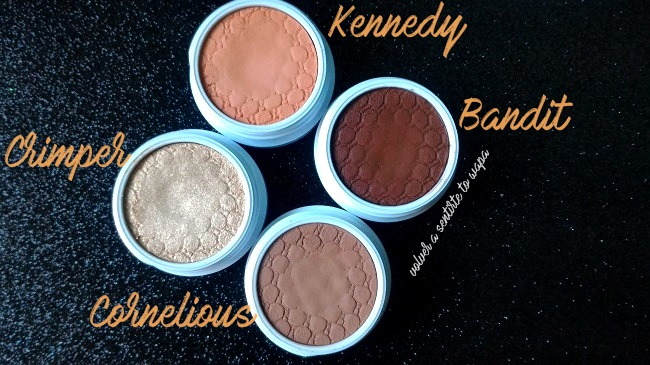 COLOURPOP | Cuarteto Peachy Keen - Swatches & Review