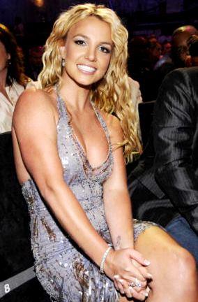 Foto de Britney Spears sentada