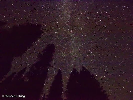 Starry, Really Starry Night at 10,000 Feet